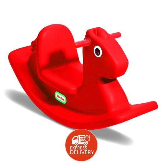 ليتل تايكس – لعبة الحصان الهزاز – أحمر