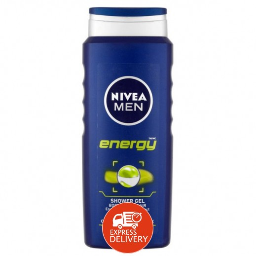 نيفيا - جيل إستحمام إنرجي للرجال 500 مل