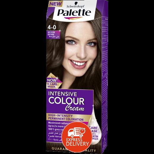 باليت – صبغة الشعر الدائمة كيميائية درجة اللون 0-4 بني وسط 50 مل