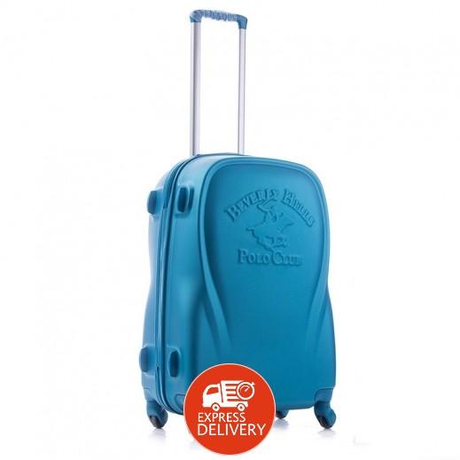 بولو - حقيبة سفر كندا 4 عجلات حجم كبير - فيروزي
