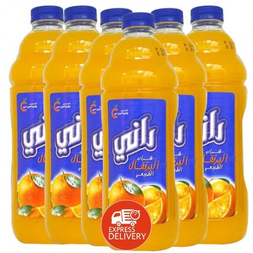 راني - عصير البرتقال (6 حبة × 1.5 لتر)