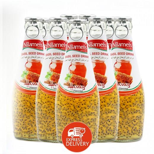 نيلاميلز -  شراب بذور الريحان مع نكهة العسل 290 مل (24 حبة)