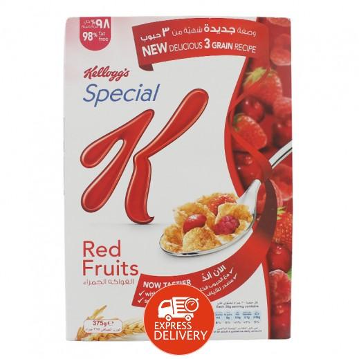 كلوقز – رقائق الفطور سبيشيال K بالفواكة الحمراء 375 جم