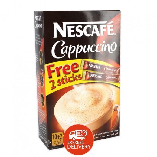 نسكافيه – قهوة كابيتشينو سريعة التحضير – 10 كيس × 12.5 جم