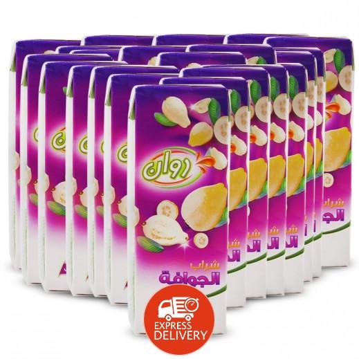 روان - عصير شراب الجوافة 24×250 مل