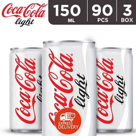 كوكا كولا لايت – مشروب غازي 150 مل ( 3 كرتون × 30 حبة ) - أسعار الجملة