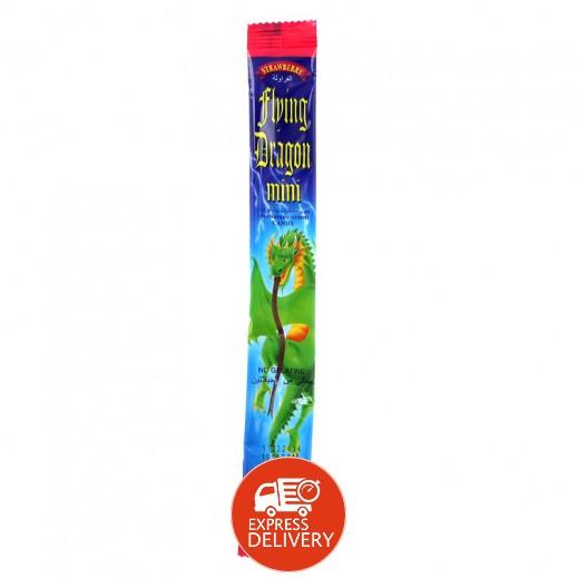 التنين الطائر الصغير - حلوي مطاطية بنكهة الفراولة 15 جم