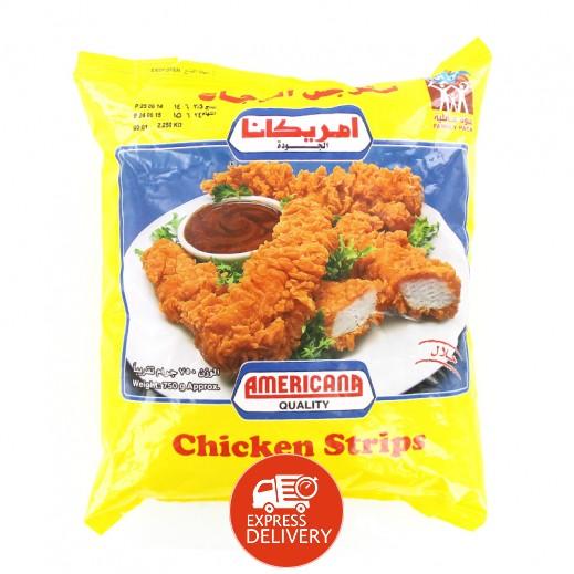 أمريكانا ستربس الدجاج 750 جم توصيل Taw9eel Com