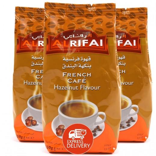 الرفاعي - قهوة ميلانج بنكهة البندق 250 جم ( 3 حبة ) - عرض التوفير