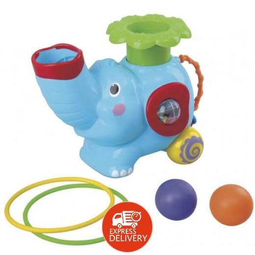 بلاي جو - لعبة الفيل مع الحلقة الدوارة