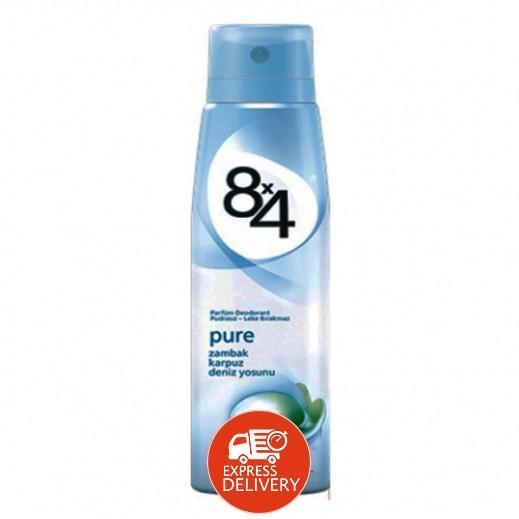 8X4 Pure Deodorant Spray Women 150 ml