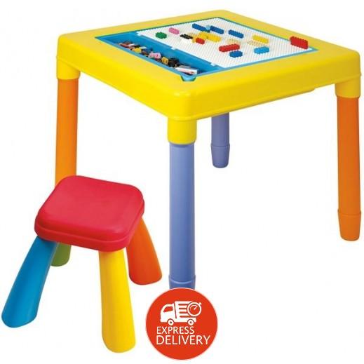 بلاي جو - طاولة مع كرسي 2 × 1 للأطفال