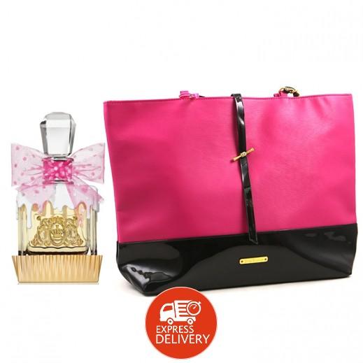 جوسي كوتور – عطر فيفا لا جوسي سوكر EDP للسيدات 100 مل + حقيبة هدية