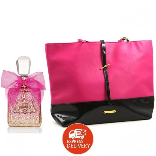 جوسي كوتور – عطر فيفا لا جوسي روز EDP للسيدات 100 مل + حقيبة هدية