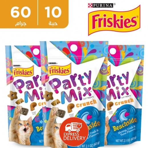 فرسكس – طعام القطط بارتي ميكس بيتش سايد 60 جم (10 حبة) - أسعار الجملة