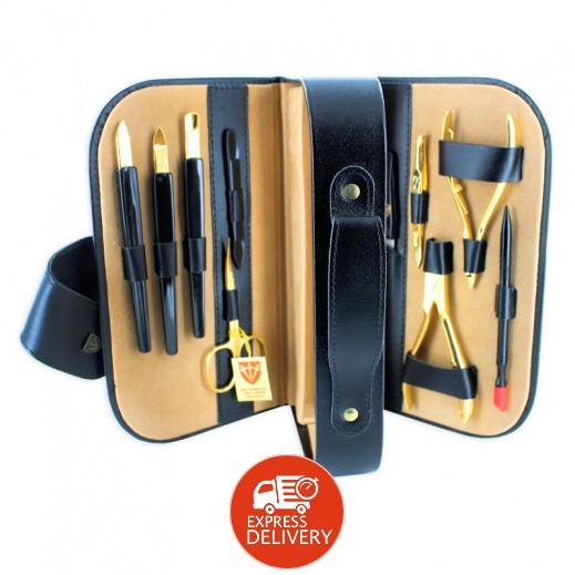 3 سوورد – حقيبة العناية بالأظافر - أسود