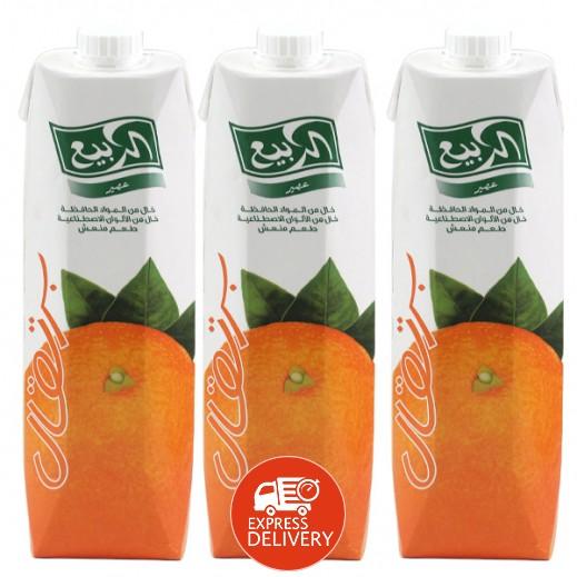 الربيع - عصير البرتقال نكتار 1 لتر (3 حبة)