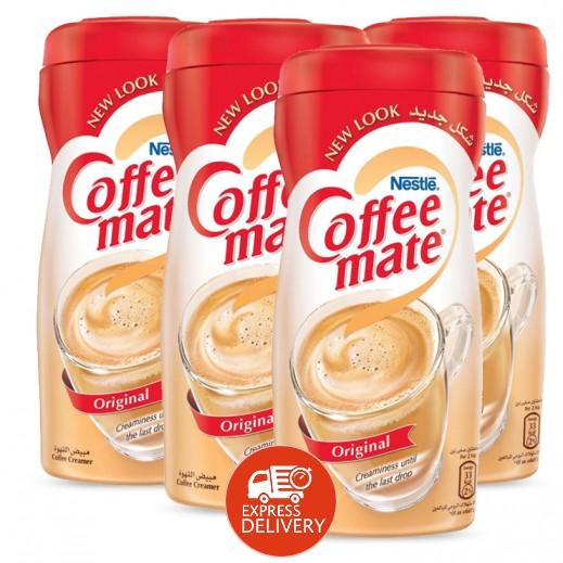 كوفى ميت - مبيض القهوة الأصلي خالٍ من الحليب 400 جم × 4 حبة - عرض التوفير