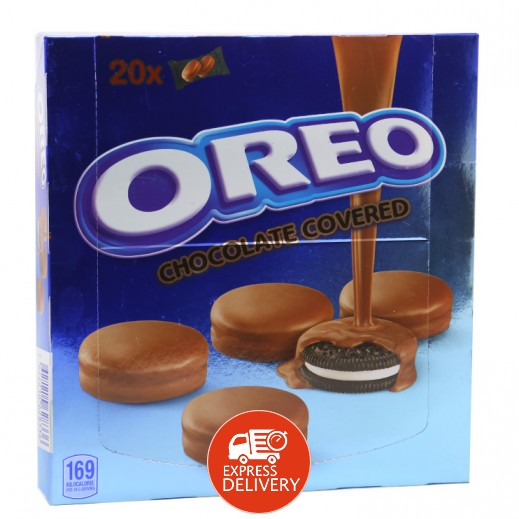 Oreo Chocolate Covered Biscuits 20x34 g