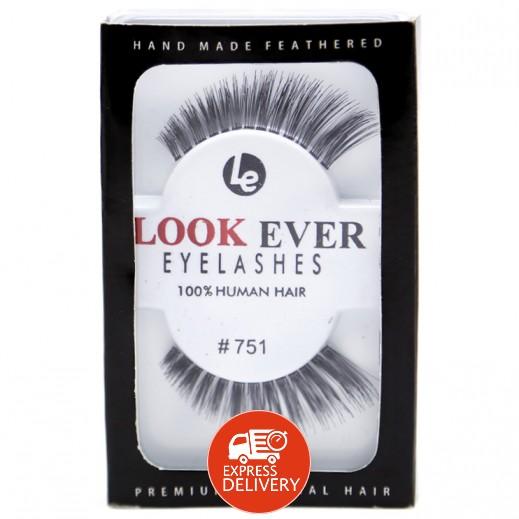 لوك إيفر – رموش لاصقة من الشعر الطبيعي #751