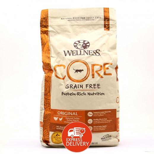 ويلنيس – طعام Core للقطط البالغة خالي من الحبوب مع المواد غذائية غنية بالبروتين 2.2 كجم