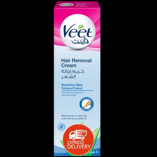 ﭬيت – كريم لإزالة الشعر للبشرة الحساسة – 100جم
