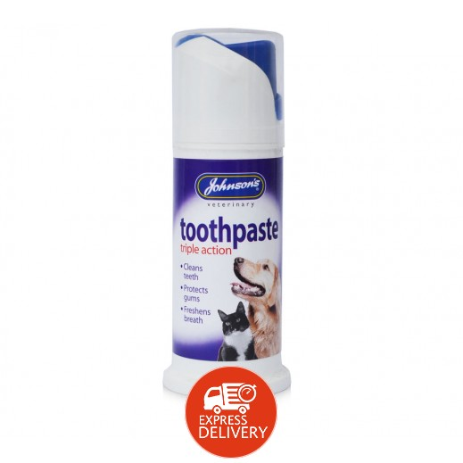 Johnson's Triple Action Toothpaste for Dogs & Cats 50 g