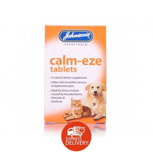 Johnson's Veterinary Calm Eze 36 Tablets
