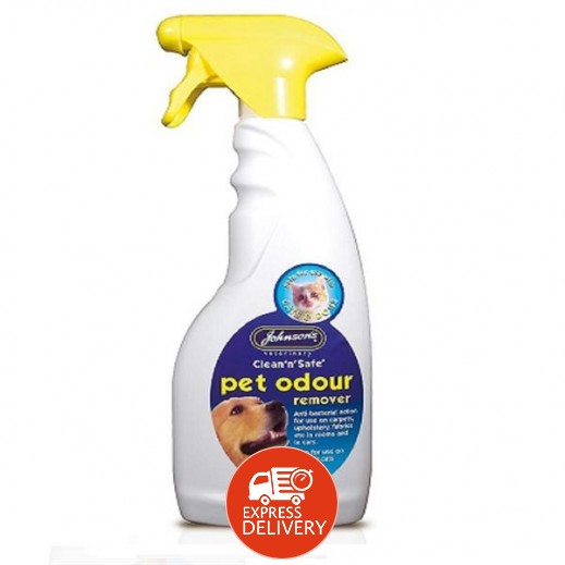 Johnson's Clean n Safe Pet Odour Remover 500 ml