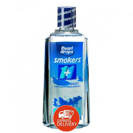 بيرل دروبس – غسول الفم للمدخنين 400 مل