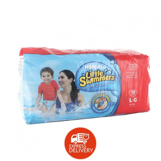 Huggies Little Swimmers Disposable Swimpants 14 + kg Large 10 pcs