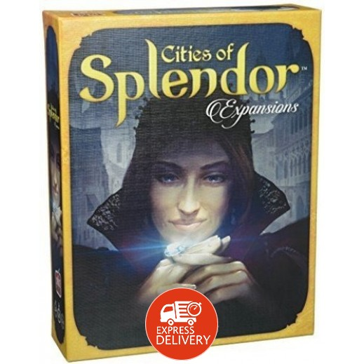 لعبة Splendor - Cities of Splendor Expansion
