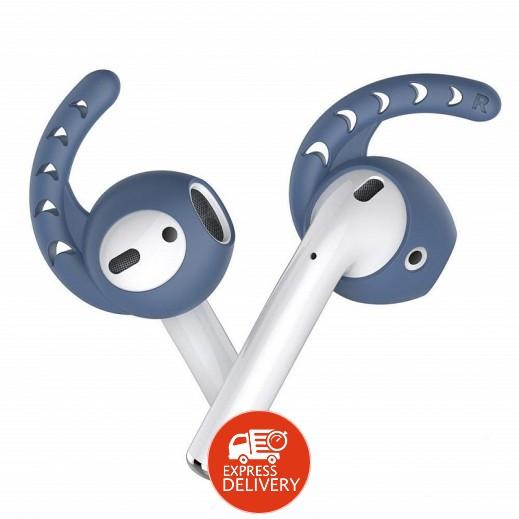AHAStyle - غطاء حماية لسماعات ابل AirPods – ازرق