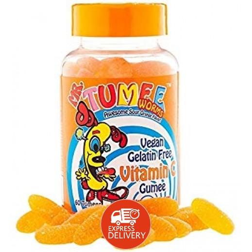 Mr.Tumee Vitamin C Gumee Orange 60 Pieces