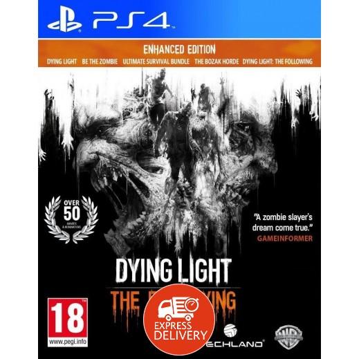 لعبة Dying Light: The Following لPS4- نظام PAL