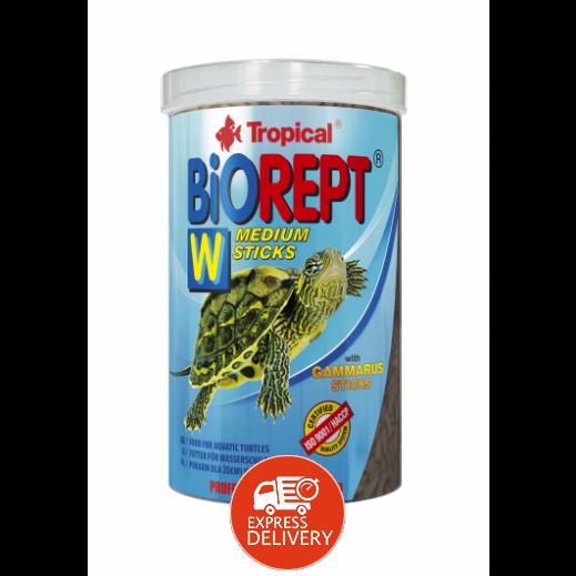 تروبيكال – طعام بيوريبت لأسماك الزينة والسلاحف 140 جم - صوابع متوسطة