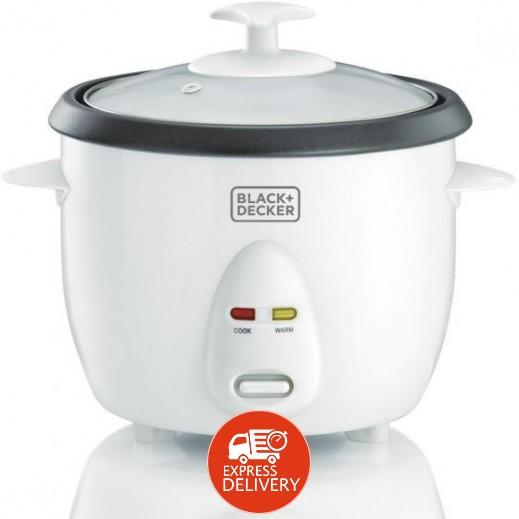 بلاك أند ديكر – طباخة الأرز 1 لتر