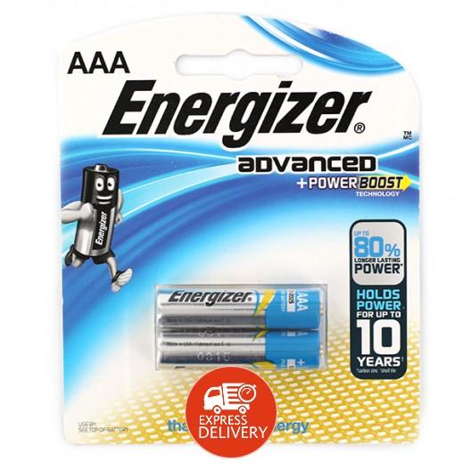 إنرجايزر - بطارية مقاس AAA - عبوة 2 حبة