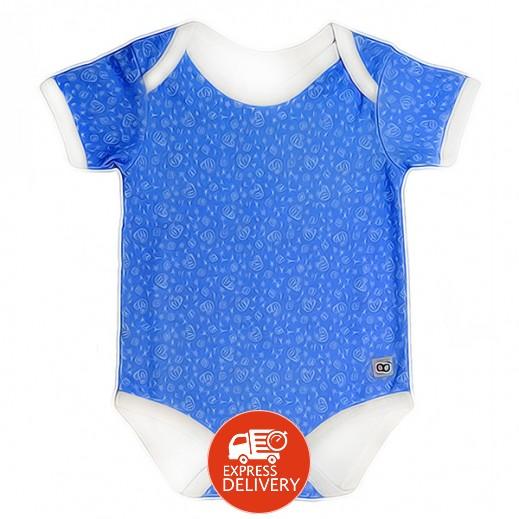 بيبي جلو – بدلة الخروج الذكية للأولاد (3-6 شهور) - لون أزرق