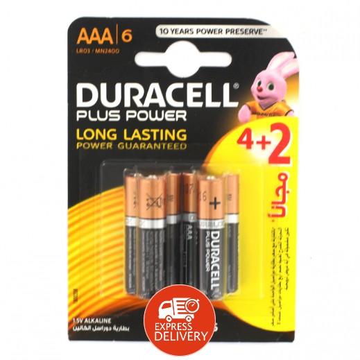 دوراسيل - بطارية الكالين مقاس AAA - عبوة 4 + 2 حبة
