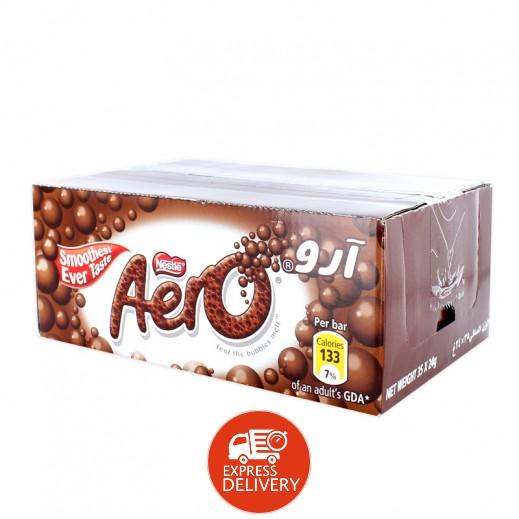 آرو - شوكولاتة بفقاعات الحليب - كرتون 35 حبة × 24 جم