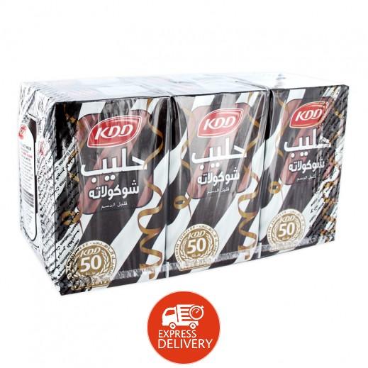 كى دى دى – حليب بنكهة الشوكولاتة 250 مل ( 6 حبة )