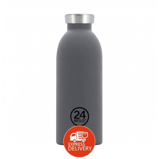 24 بوتلز - زجاجه مشروبات كليما الحرارية - رمادي 500 مل