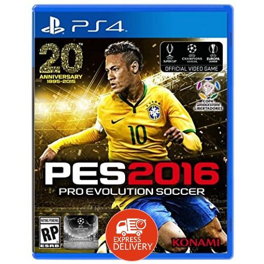لعبة PRO EVOLUTION SOCCER 2016 لاجهزة PS4 نظام NTSC