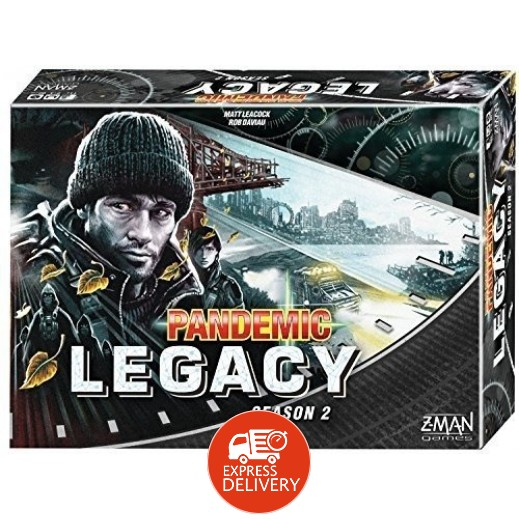 لعبة Pandemic: Legacy Season 2 - Black Edition