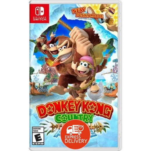 لعبة Donkey Kong Country: Tropical Freeze لنينتندو سويتش – NTSC