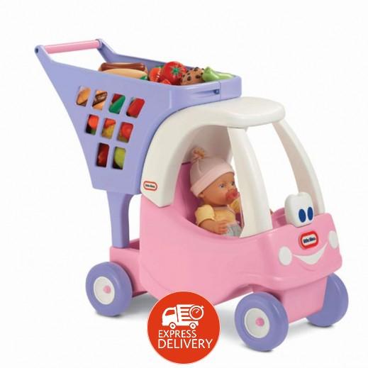 """ليتل تايكس – سيارة وعربة التسوق """" برنسس كوبيه """" للأطفال"""