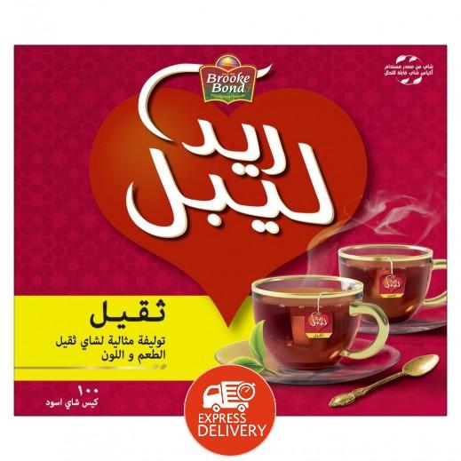 بروك بوند - شاي ريد ليبل أسود 100 كيس