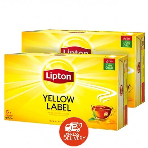 ليبتون – شاي العلامة الصفراء 200 كيس ( 2 حبة) - عرض التوفير