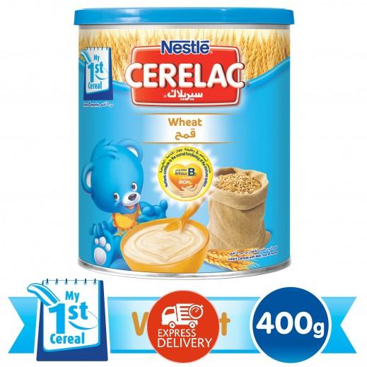 """سيريلاك – طعام الأطفال بالقمح """" المرحلة الأولى  """" 400 جم"""